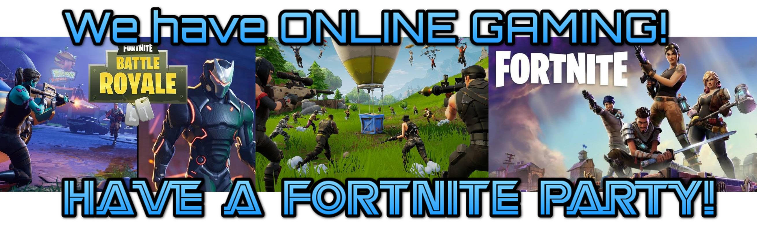 Fortnite party, Apex Legends online gaming party in Calgary, Alberta