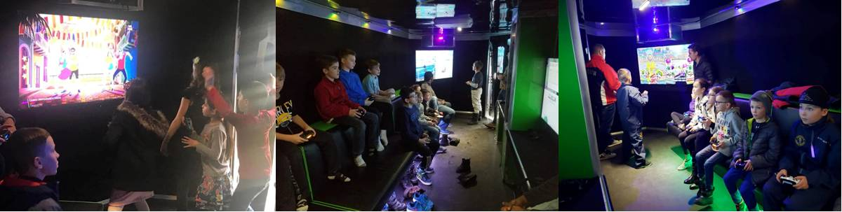 Calgary Alberta video game truck and trailer party
